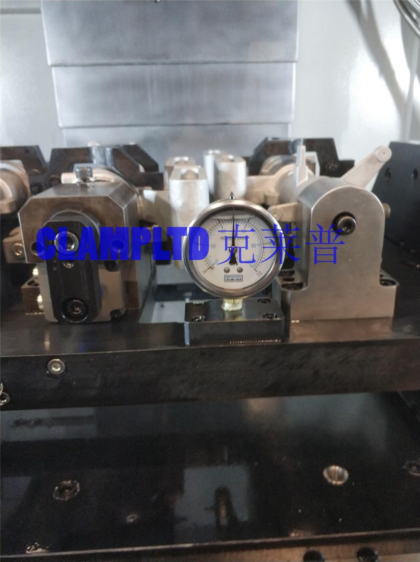 柱管多工位液压夹具