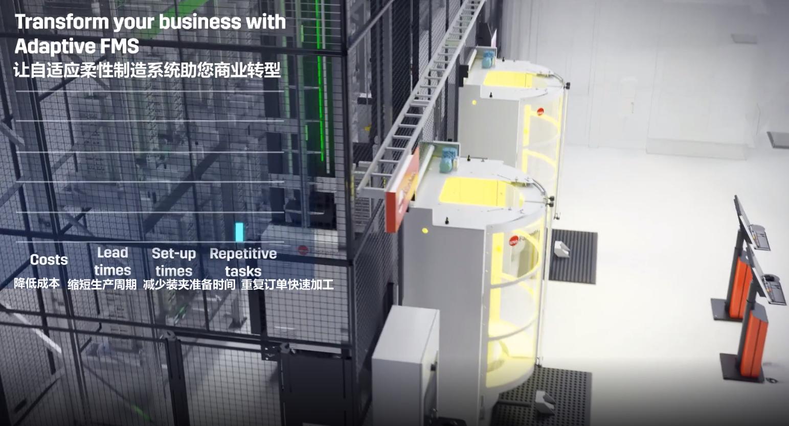 FMS柔性制造单元系统-助力中国制造业升级 FMS柔性化制造单元-解决方案 第3张