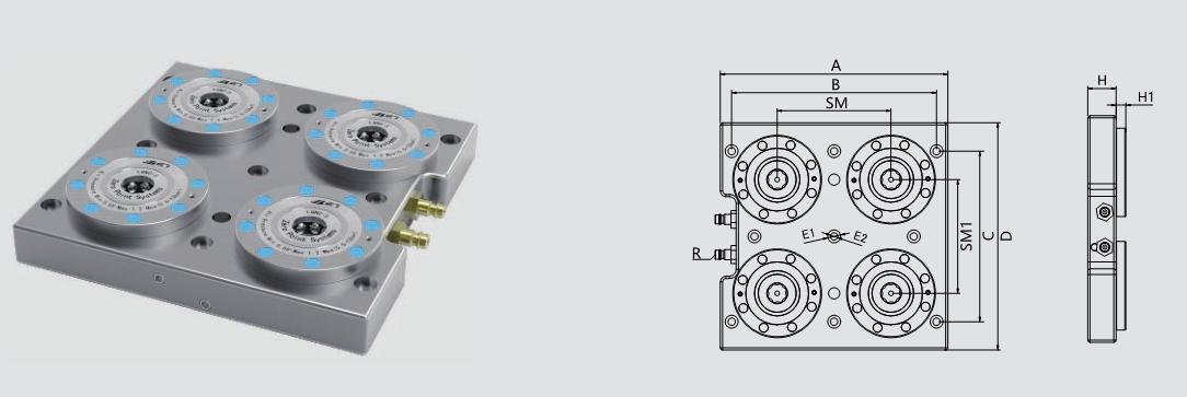 三大要素促成现代的自动化机床装载理念 零点定位应用 第2张