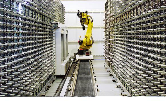 柔性化FMS托盘系统关重元器件-零点定位系统