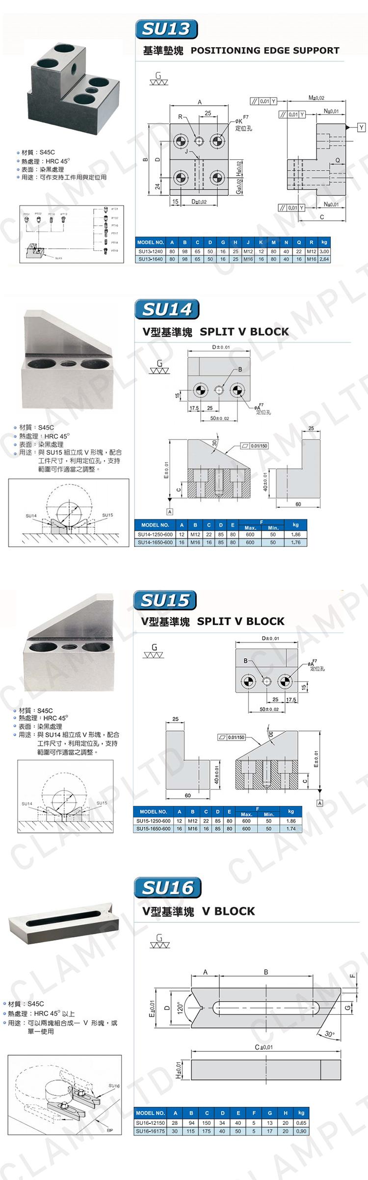 支撑类夹具零部件附件 夹具附件 第6张